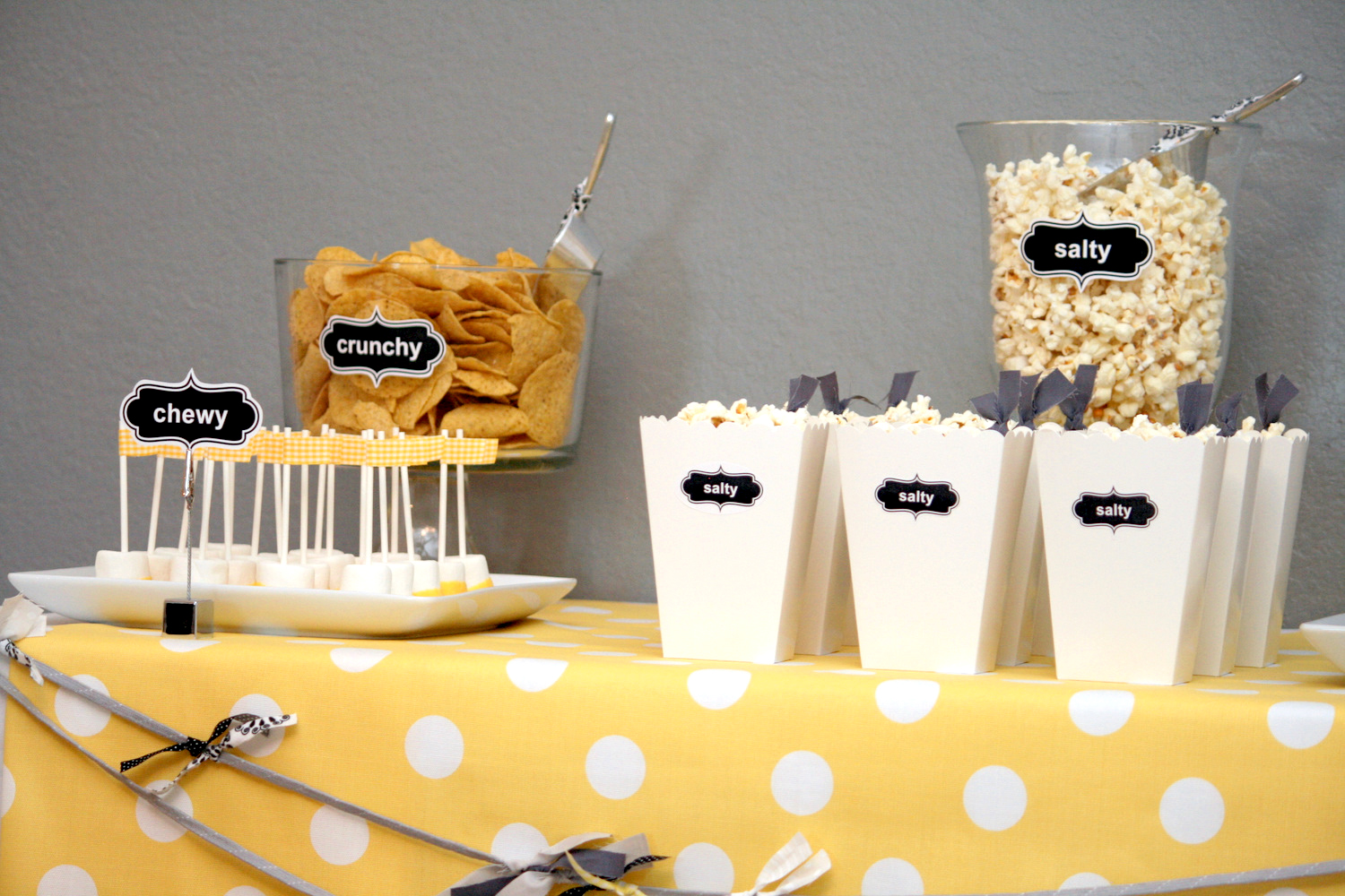 Diy Party Food Labeling