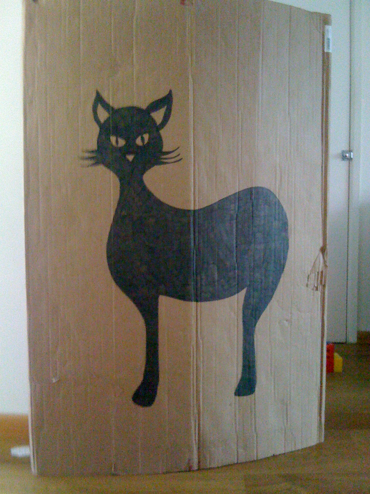 diy: halloween game – pin the tail on the cat – nicethingsinmylife
